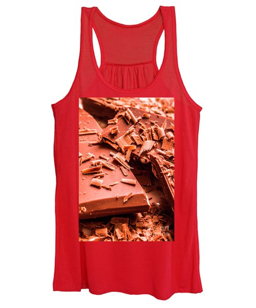 Delicious Bars And Chocolate Chips  Women's Tank Top