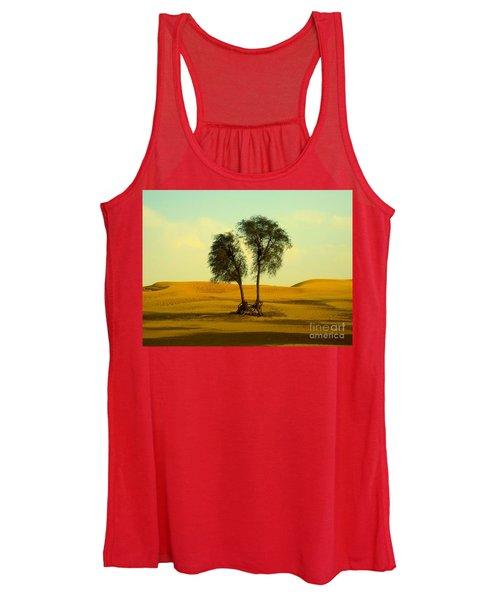 Desert Trees Women's Tank Top
