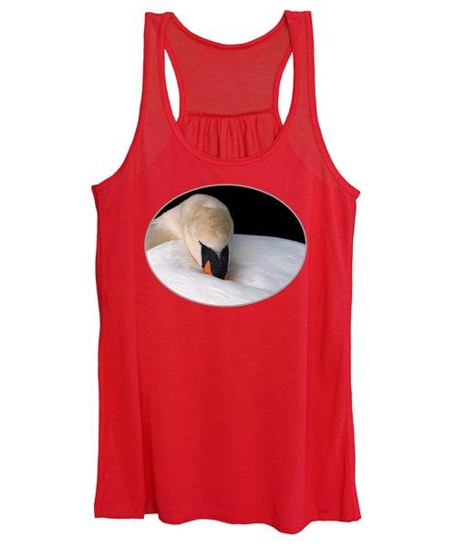 Do Not Disturb - Orange Women's Tank Top