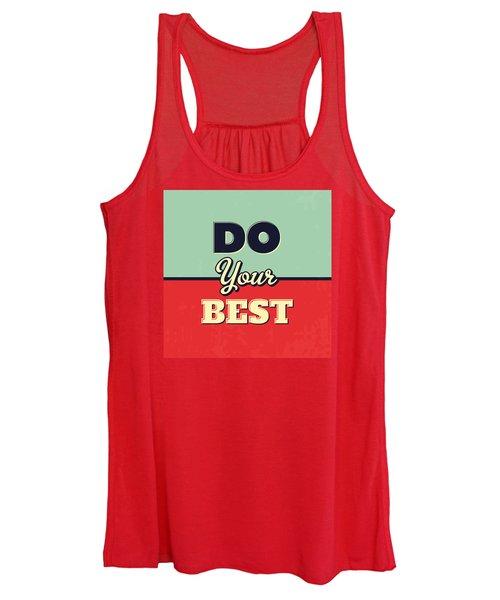 Do Your Best Women's Tank Top