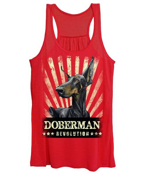 Doberman Revolution Women's Tank Top