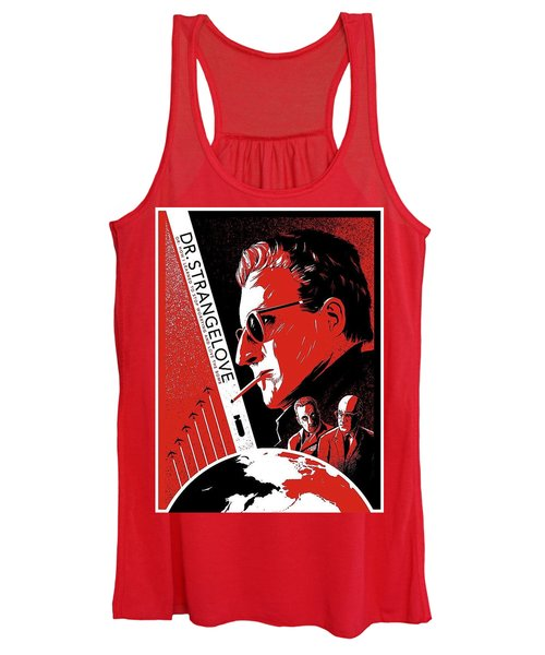 Dr. Strangelove Theatrical Poster Number Three 1964 Women's Tank Top