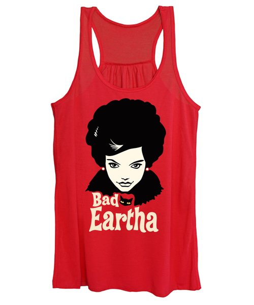 Eartha Kitt - That Bad Eartha Retro Poster Women's Tank Top