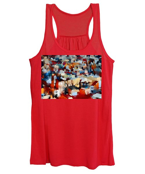 Echoes Of Civilization  Women's Tank Top
