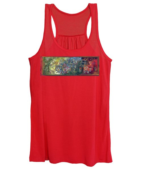 Elemental Bubbles Women's Tank Top
