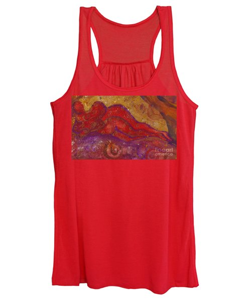 Embrace Divine Love Series No. 1230 Women's Tank Top