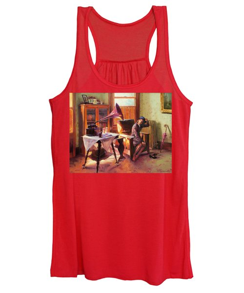 Ending The Day On A Good Note Women's Tank Top