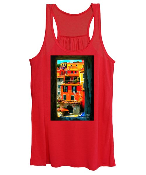 Entry Way Painting Women's Tank Top