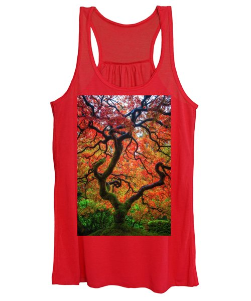 Ethereal Tree Alive Women's Tank Top