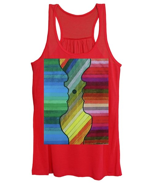 Faces Of Pride Women's Tank Top