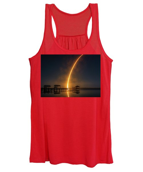 Falcon 9  Night Launch Women's Tank Top
