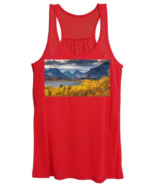 Fall Colors In Glacier National Park Women's Tank Top