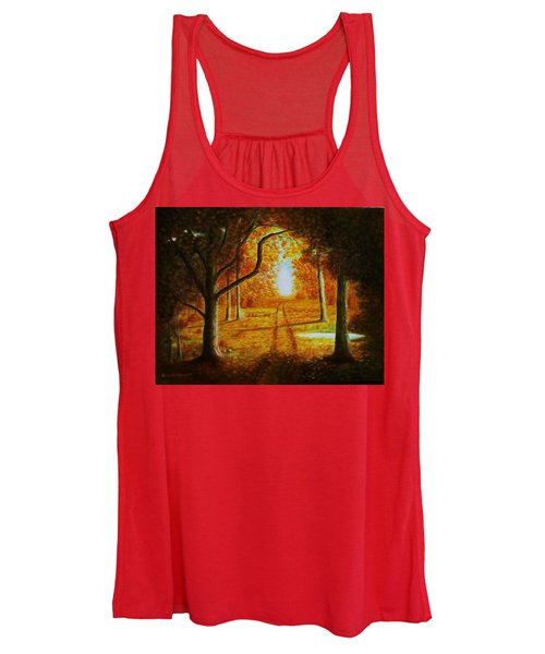 Fall In The Woods Women's Tank Top