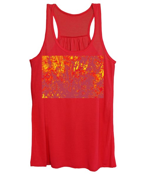 Fall Leaves #4 Women's Tank Top