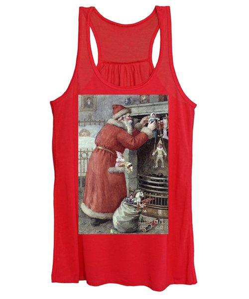 Father Christmas Women's Tank Top