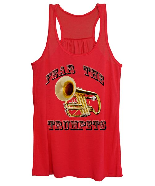 Fear The Trumpets. Women's Tank Top
