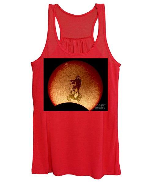 Feel The Burn, Elliptigo Eclipse Women's Tank Top