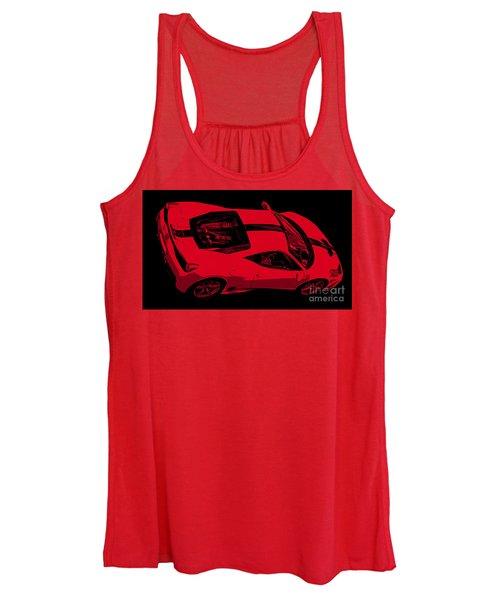 Ferrari 458 Women's Tank Top