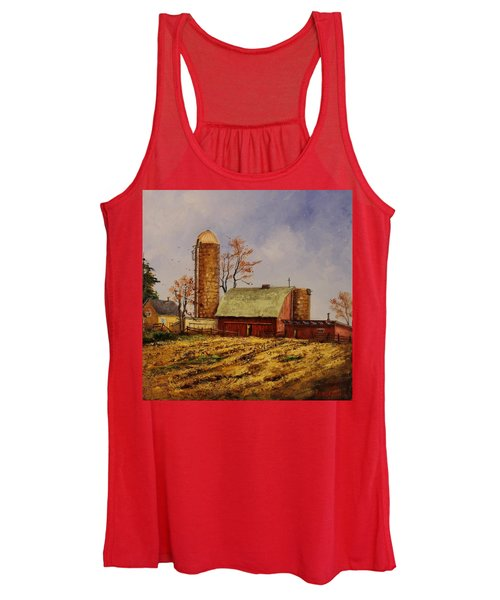 Fields Ready For Fall Women's Tank Top