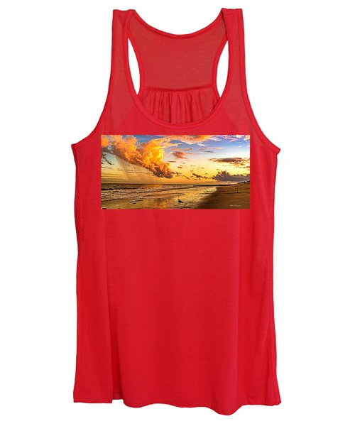 Fire In The Sky Women's Tank Top