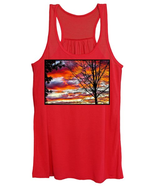 Fire Inthe Sky Women's Tank Top