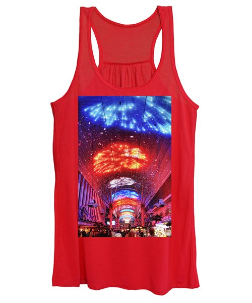 Fireworks Display In Las Vegas Women's Tank Top