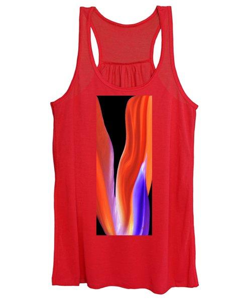 Flame - Bird Of Paradise   Women's Tank Top