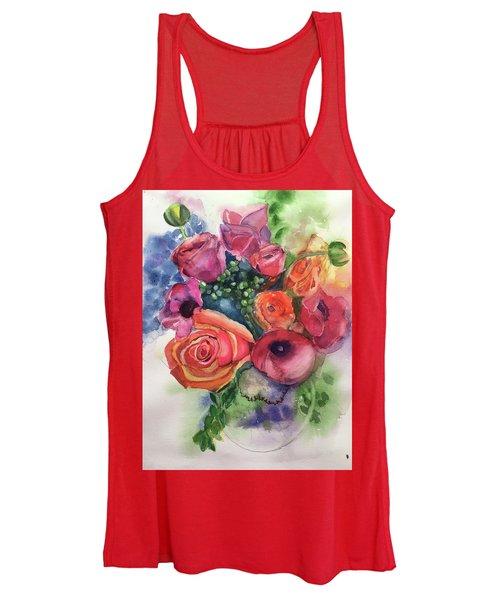 Floral Fantasy Women's Tank Top