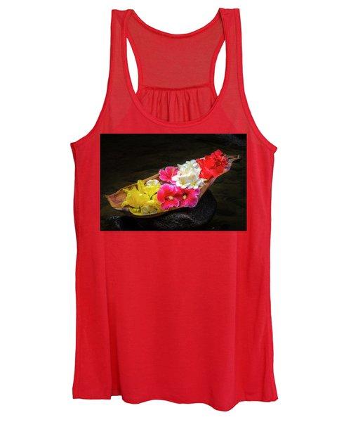 Flower Boat Women's Tank Top