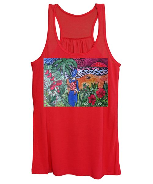 Fortune ....happiness Women's Tank Top