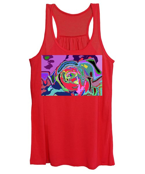Fragrance Of Color  Women's Tank Top