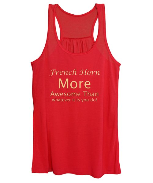 French Horns More Awesome Than You 5559.02 Women's Tank Top