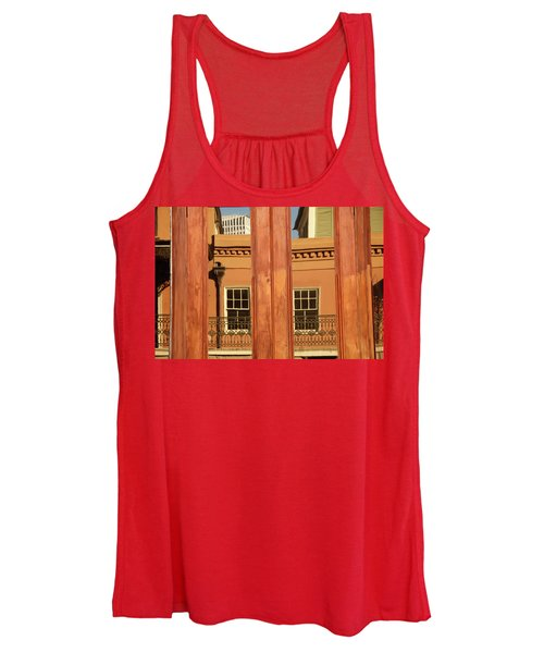 French Quarter Reflection Women's Tank Top
