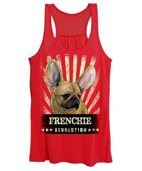 Frenchie Revolution Women's Tank Top