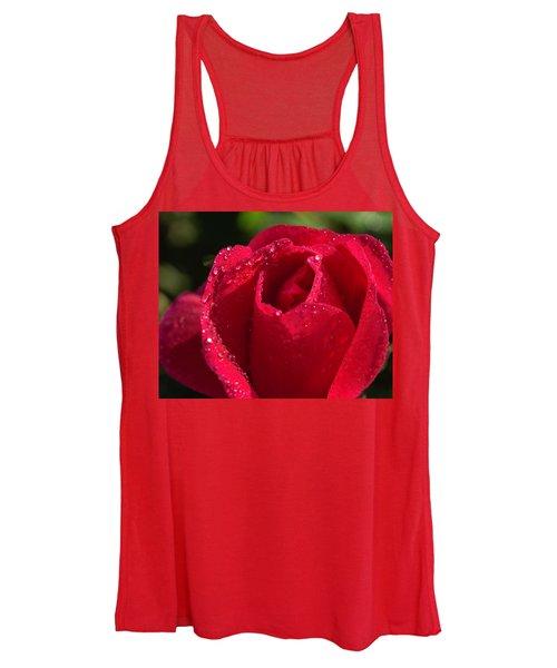 Fresh Rose Women's Tank Top