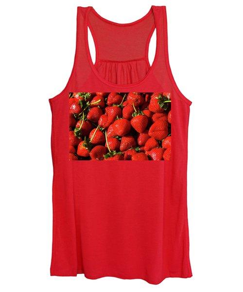 Fresh Strawberries Women's Tank Top