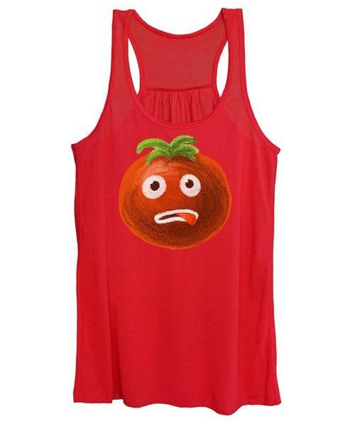Funny Tomato Women's Tank Top