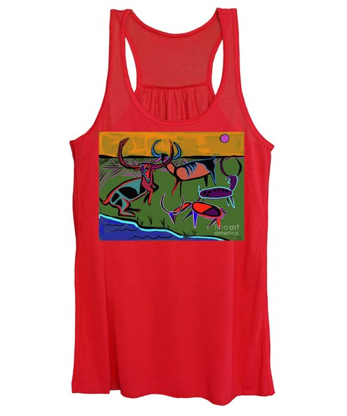 Gathering Herd Women's Tank Top