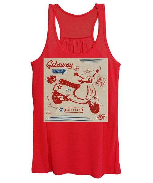 Getaway Weekend Women's Tank Top