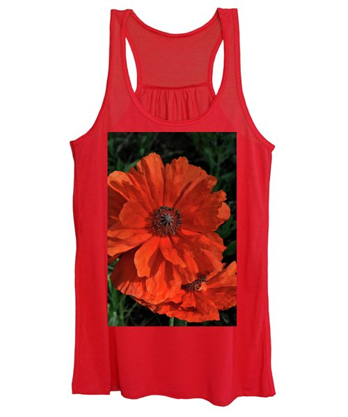 Giant Mountain Poppy Women's Tank Top