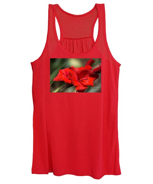 Gladioli Manhattan Variety  Women's Tank Top