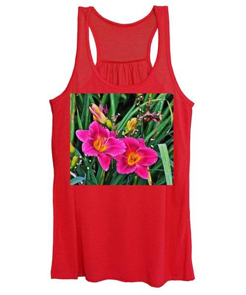 Glorious Daylilies Women's Tank Top