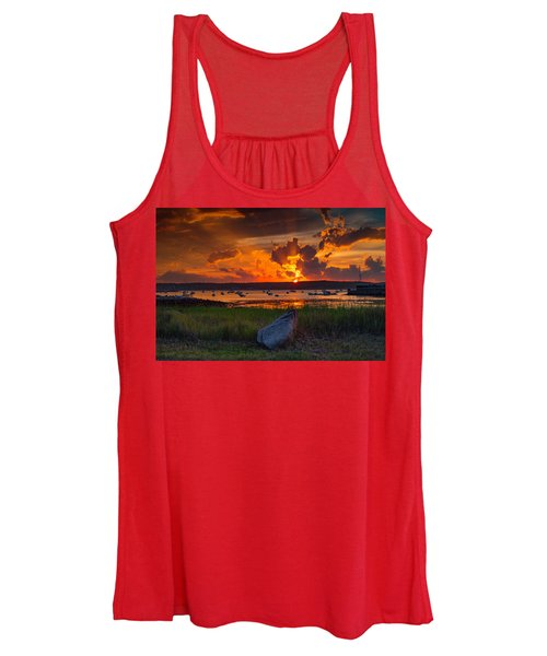 Gloucester Harbor Sunset Women's Tank Top