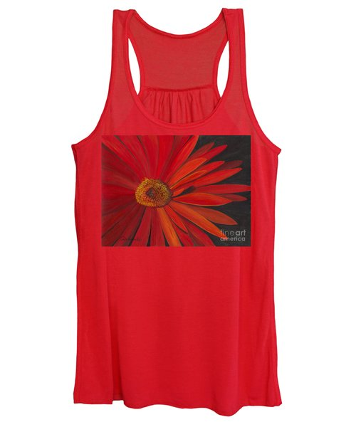 Glowing Gerber Women's Tank Top