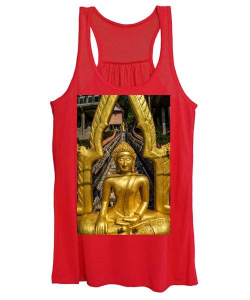 Golden Buddhas Women's Tank Top