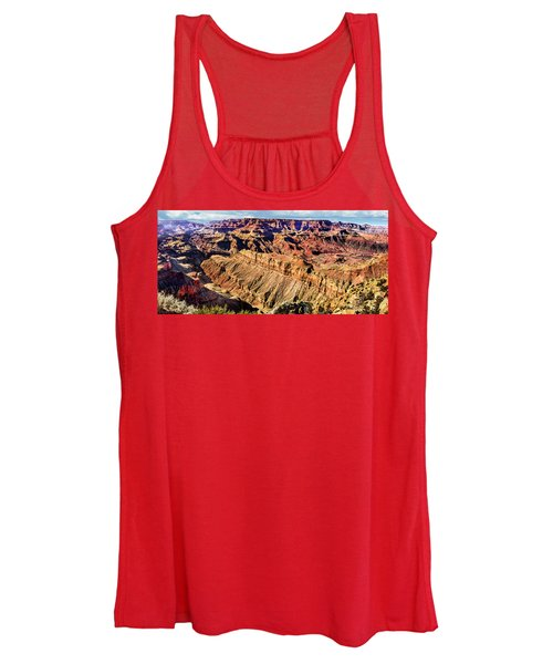 Grand Canyon Afternoon At Lipan Point Women's Tank Top