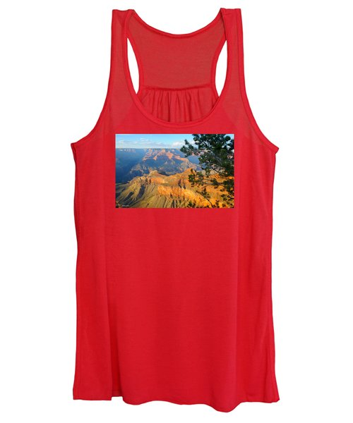 Grand Canyon South Rim - Pine At Right Women's Tank Top