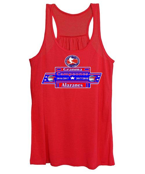 Granma Alazanes 2018 Cuban Baseball Champions Women's Tank Top
