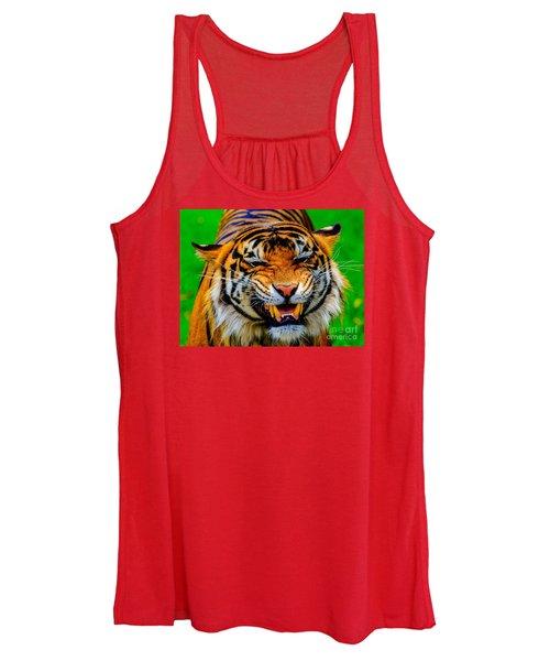 Growling Tiger Women's Tank Top