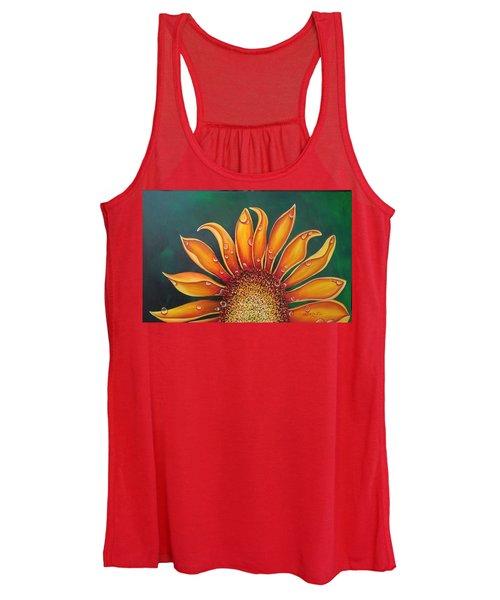 Happy Flower Women's Tank Top